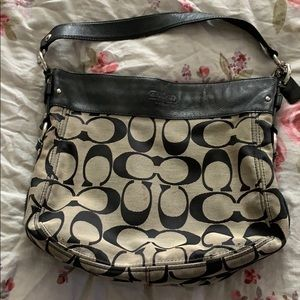 Used condition roomy Coach purse